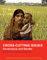 Cross-cutting issues: Governance and gender