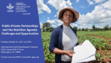 Event: Public-Private Partnerships and the Nutrition Agenda: Challenges and Opportunities