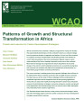 Patterns of growth and structural transformation in Africa