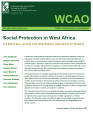 Social protection in West Africa