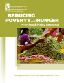 Reducing poverty and hunger through food policy research